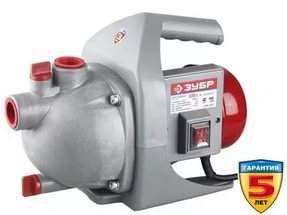 Насос садовый ЗУБР пропускная способность 50л/мин 600Вт ЗНС-600