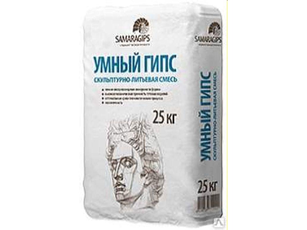 Скульптурно-литьевая смесь для 3D литья 25кг (56шт/пал)