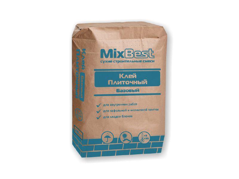 Клей плиточный ПСС базовый MixBest  20кг  (56шт/пал)