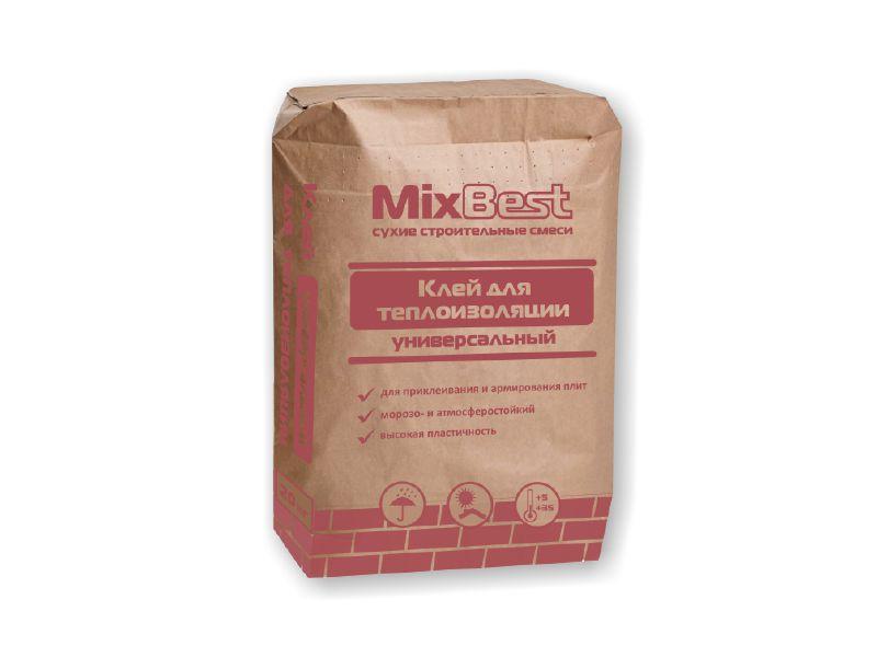 Клей для теплоизоляции ПСС Универсальный MixBest  20кг  (56шт/пал)
